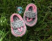 Crochet Strapped Flip Flops