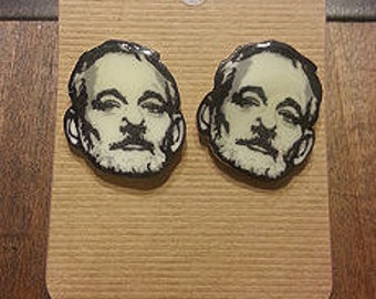 Bill F'n Murray Earrings BFM