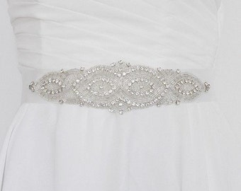 Bridal sash 'Art Deco'