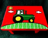 Items Similar To Chuga Chuga Children S Tractor Step