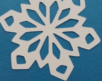 Snowflake Paper Cutout