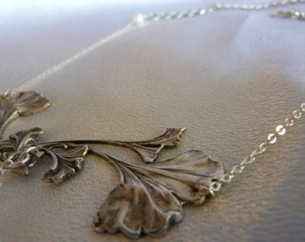Collection * Alphonse MUCHA *, necklace * Gingko *.