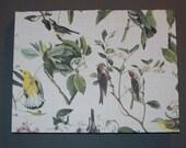 Handgemachte Notepad-Vögel