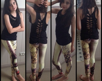 Eiffel Tower Leggings By FunkyLeggzis