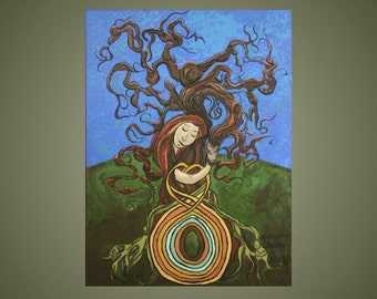 Painting: Rooted