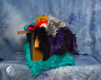 Medium High Quality Scrap Fur Box