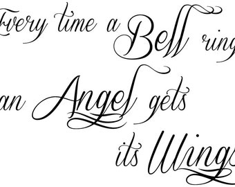 Every Time a Bell Rings   Religious Wall Decal - Christian Vinyl Wall Art