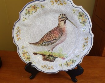 Lami Italy bird plate