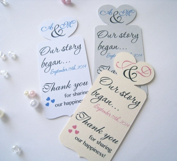 Thank You Gifts For Wedding Party: Bookmark Wedding Favor Thank You Bookmarks Wedding Favors