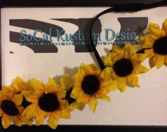 Sunflower headband!