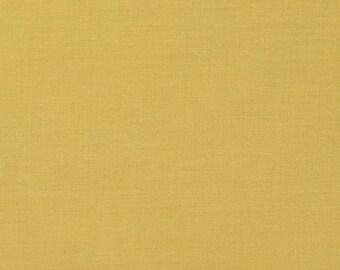 SALE! 60% off! Birch Organic Fabric - Mod Basics - Solid Sun-- by 1/2 yard