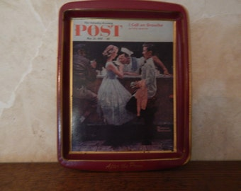 Norman Rockwell Tray