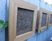 DIY Succulent Living Wall a.k.a. Vertical Hanging Planter