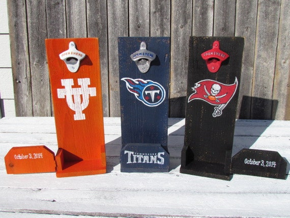 items similar to beer bottle opener groomsmen gift ideas wall mount personalized wedding party. Black Bedroom Furniture Sets. Home Design Ideas