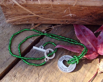 Girl Scout Volunteer necklace