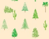 Trees Illustrated Gift Wrap (5 sheets)