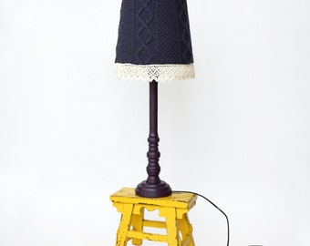 Knit lamp Violet Chic Handmade
