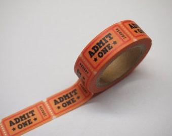 Washi Tape -  admit tickets (10M) P83