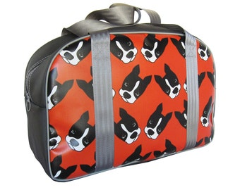 Little Packrats JACK the DOG Round Top Tote