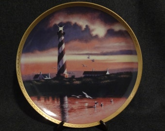 1990 Cape Hatteras Lighthouse Collectors Plate