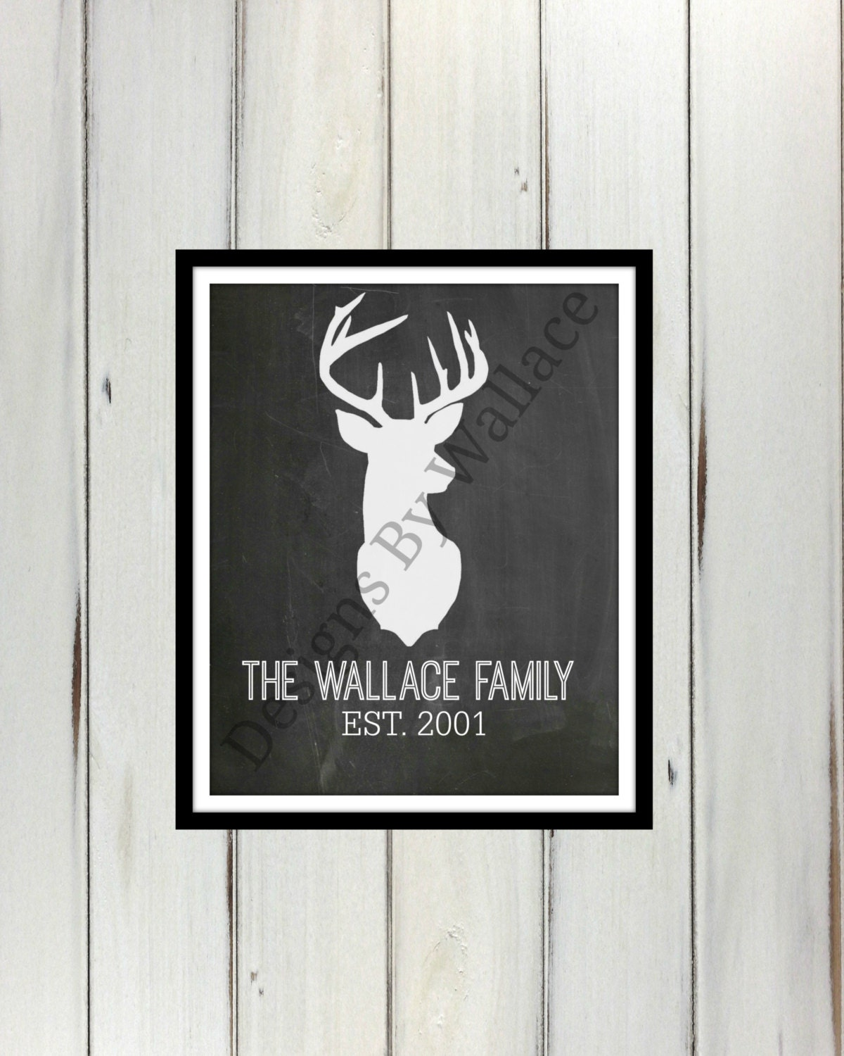 custom family last name wall art instant by designsbywallace. Black Bedroom Furniture Sets. Home Design Ideas
