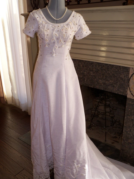 Vintage inspired wedding dress by ladymboutique on etsy for Vintage sites like etsy
