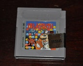 Vintage Dr. Mario Gameboy Game