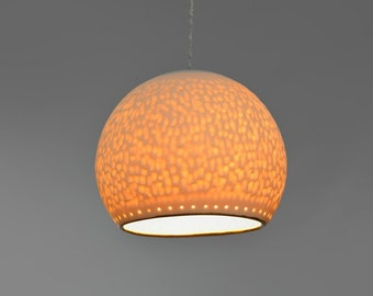 Hanging lamp lighting. Hanging lamp shade. Pendant lighting. Ceiling light fixture.