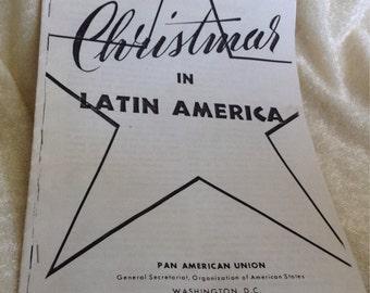 Vintage Brochure Christmas in Latin America