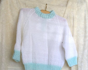Scottish Baby Sweater Handmade