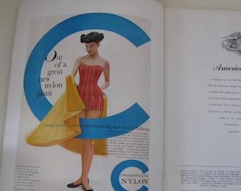 American Fabrics Issue - Fall - 1955