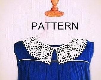 PATTERN collar crochet necklace