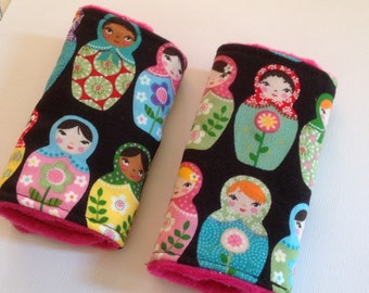 Matryoshka Dolls Car Seat Strap Covers