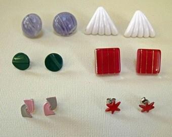 jewelry destash earrings 6 pair Lot 6E