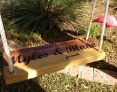 Customized Wooden Swing