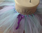 Purple and Aqua Girls Tutu, Purple Girls Tutu, Girls Tutu, Infant Tutu, Toddler Tutu