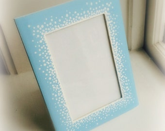 Dotted Frame in Blue