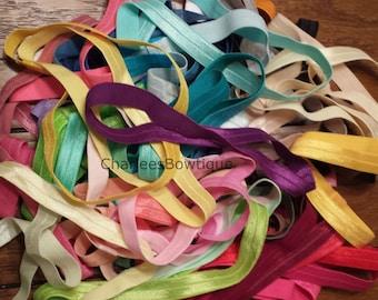 GRAB BAG - 10 Headbands - 5/8 Elastic Interchangeable Headbands