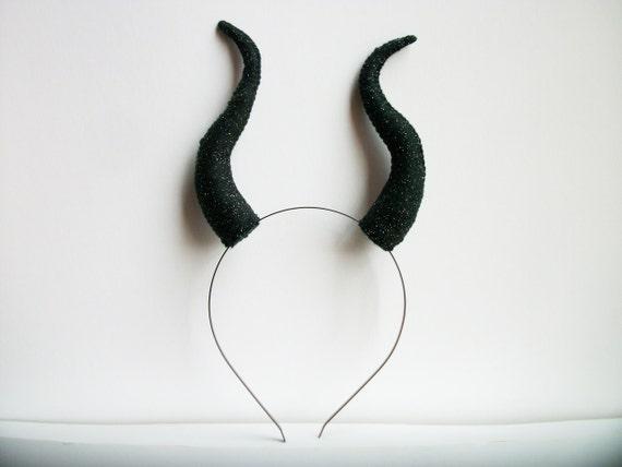 Small Maleficent Horns Maleficent Horns Headband By Graciosa