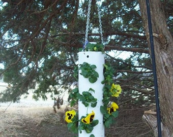 "Hanging PVC Planter ""Sale Price"""
