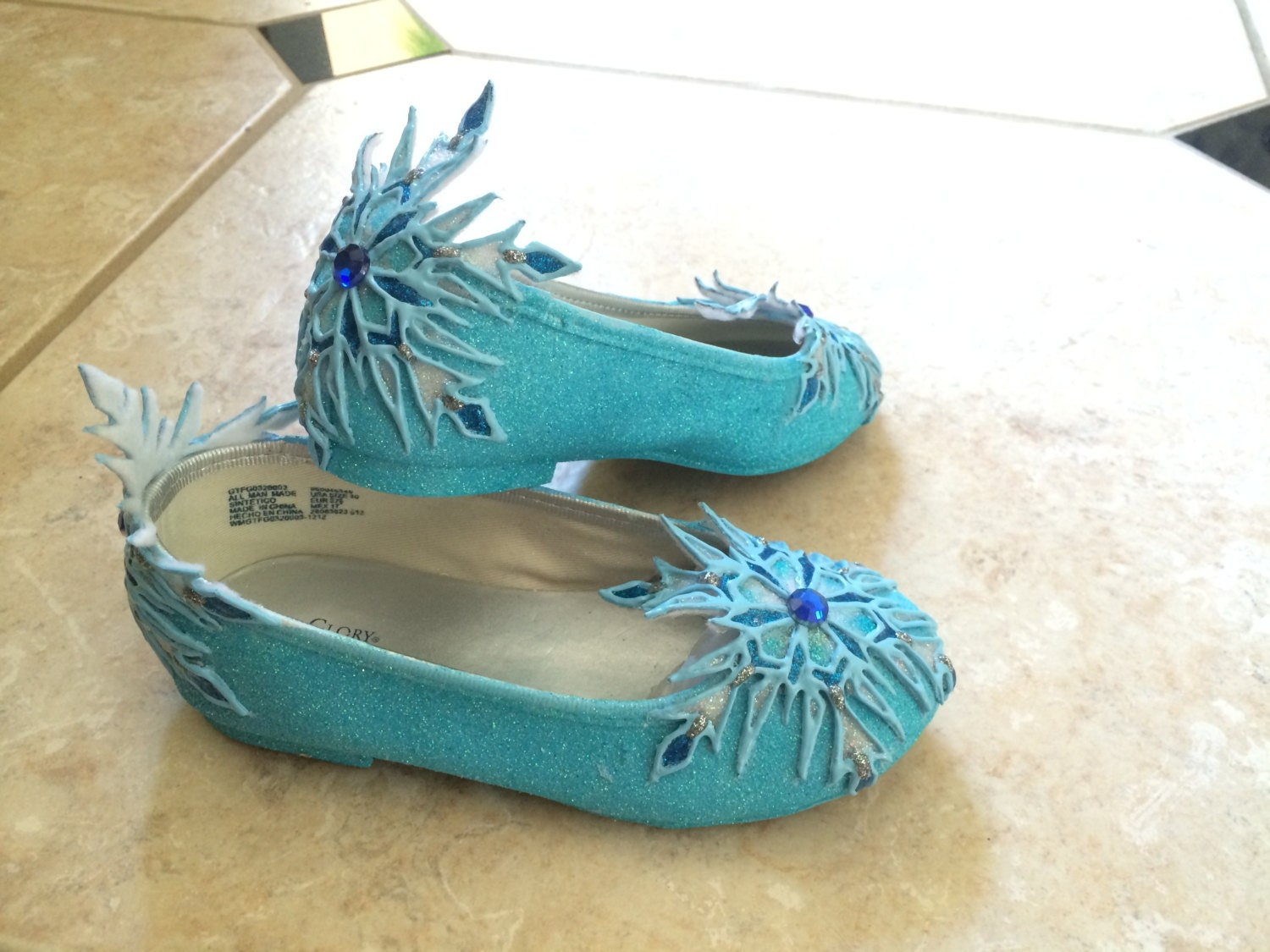 elsa s flat shoes inspired by disney frozen for