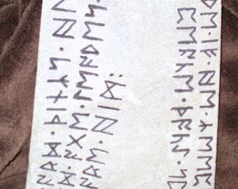 Havamal rune stone