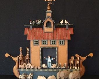 Noahs ark handmade
