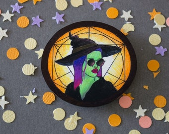 Witch Babe Brooch