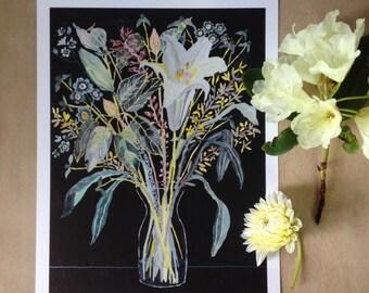Wild Bouquet No.1- Archival Print