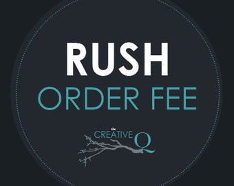 Rush My Order 1 Week Turnaround - Expediting Add-On Listing