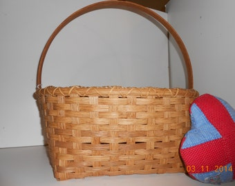 "The ""Kim""  large hand woven basket"