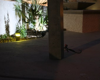Indoor/Outdoor Concrete Light Bollard