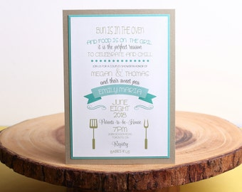 Baby Shower Invitation- look 21