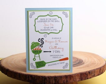 Baby Shower Invitation- look 22